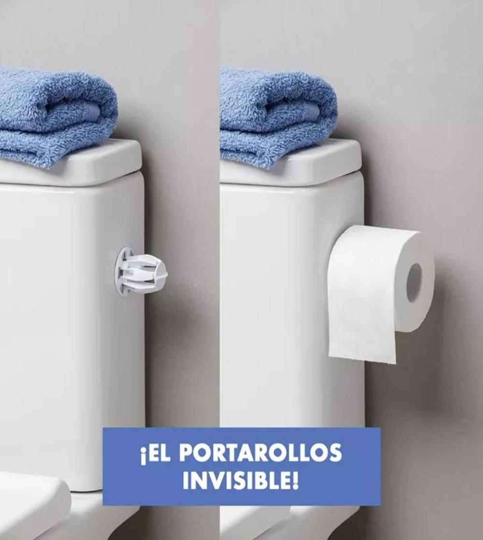 PORTA ROLLOS INVISIBLE DE TATAY